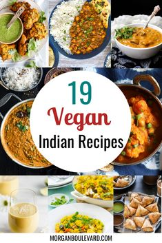 Vegan Indian Recipes, Vegetarian Recipes, Chickpea Recipes, Vegetable Recipes, Lentil Dal Recipe, Vegan Food List, Chickpea And Spinach Curry, Aloo Gobi, Indian Appetizers