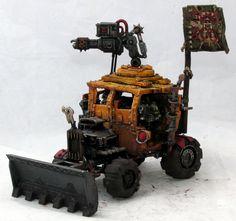 Warhammer 40K - Ork Warbuggy Conversion | eBay