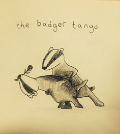 Badger tango - by Amy Lumb