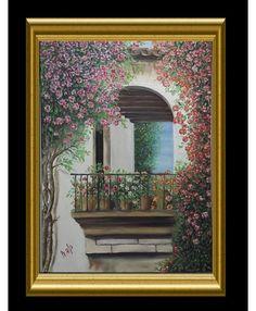 BALKON Mirror, Frame, Painting, Furniture, Home Decor, Art, Balcony, Picture Frame, Art Background