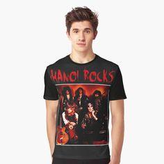 Hanoi Rocks, My T Shirt, Female Models, Vivid Colors, My Arts, Art Prints, Printed, Awesome, Music