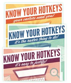 Graphic Design Posters  Know Your Hotkeys Mac  by brigetteidesigns