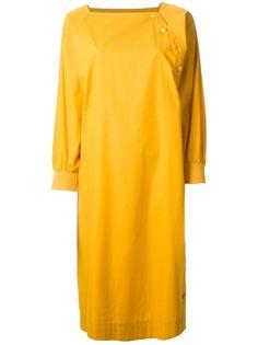 CHRISTIAN DIOR VINTAGE Button Detail Dress