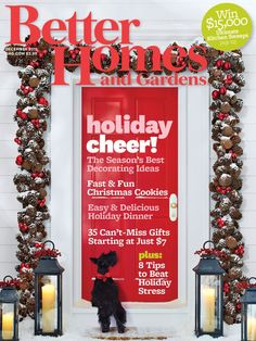 An adorable Scottie graced the cover of our December issue.