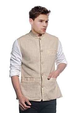 Nehru jacket is one of the best ethnic wear in mens apparel. Buy Buy Sobre Estilo Nehru jacket form India's most trendiest online shopping website Infibeam.com.