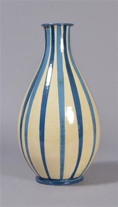 Vare: 4435028Herman A. Kähler. Vase af glaseret keramik