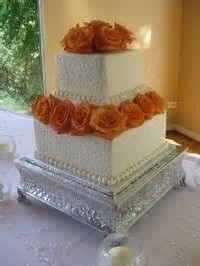 Image result for  orange brown white wedding