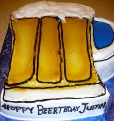 Beer cake.