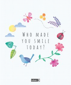 Journal Prompt: Who made you smile today?