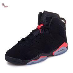 best service 5d1ba ae506 Nike Air Jordan 6 Retro Bg, Chaussures de sport garçon - différents coloris  - Noir