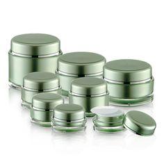 J03 Round Acrylic Jars