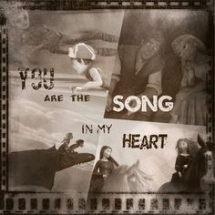 You are the song in my heart. Is to be different than the others.
