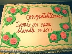 25 Best Misspellings On Cakes Images In 2015 Cake Fail