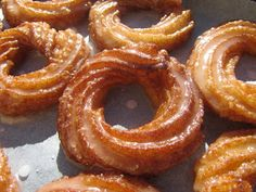 rosquillas de san froilán con thermomix, rosquillas thermomix, día de San froilán rosquillas de León Thermomix. Mexican Food Recipes, Sweet Recipes, Ethnic Recipes, Onion Rings, Beignets, Churros, Flan, Donuts, Crepes
