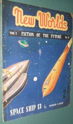 Rare Vintage Pulp New Worlds Fiction of the Future Vol. 1 No. 2 Patrick S. Selby…