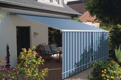 Back Porch Awning . Back Porch Awning . Shelter Your Courtyard with Our Cuba Patio Awning and Use Screen Porch Kits, Outdoor Screen Room, Outdoor Blinds, Outdoor Rooms, Porch Awning, Awning Canopy, Patio Roof, Backyard Patio, Patio Awnings
