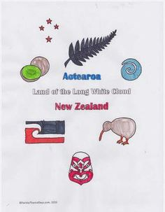 New Zealand  Learning Activities New Zealand Flag Printable