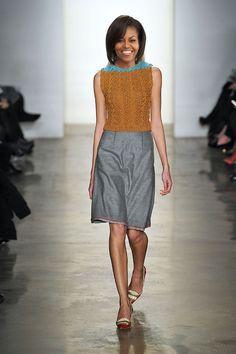 Com que roupa, Michelle Obama? Sugestões de looks pra 1ª dama direto da Semana de Moda de NY!