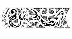 Maori Polynesian Armband Tattoo Design