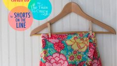 Featured: Faux Wrap Shorts