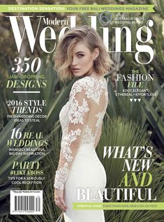 COVER - Lost In Love Photography - Modern Wedding Magazine MW70