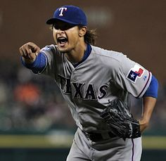 Yu Darvish 11 | P. Had to pin this after last night.