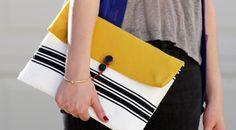 Veja como fazer uma bolsa sem máquina de costura, transformando um envelope bolha em uma linda clutch! É muito fácil! Confira!