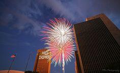 Albany NY Empire State Plaza 4th of July 2011    Albany NY Empire State Plaza, Fireworks