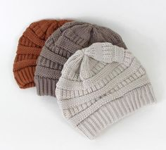 I wish a camera could capture how soft and cozy these beanies are! #mooreaseal