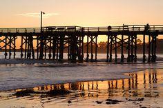 Goleta Pier by Damian Gadal, via Flickr