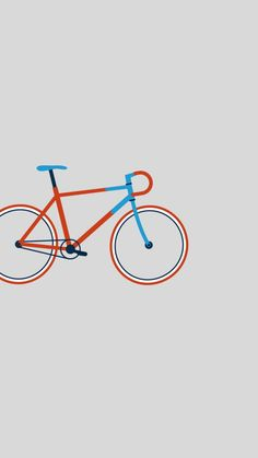 Bicycle. Tap to see more nice Minimalist iPhone Wallpapers | mobile9 #minimal #minimalistic #simple