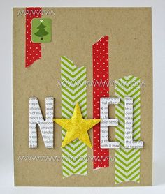 Noel Card by Kathy Martin for Bella Blvd.