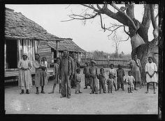 Vintage slave photos   Arthur Rothstein, Negroes, descendants of former slaves of the