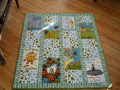 Dr Seuss The Lorax Organic Cotton Earth colored by BattyQuilter, $75.00