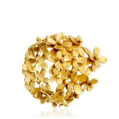 Buy Large Flower Ring by Pippa Small at AstleyClarke.com