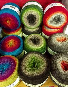 Freia Ombre Sport Wool #freia #yarn #knitting #rivercolorsstudio Yarn Thread, Yarn Stash, Crochet Yarn, Crochet Hooks, Ombre Yarn, Crochet For Kids, Crochet Ideas, Yarn Ball, Hand Dyed Yarn