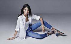 Show off your best genes in those modern classics by River Island. Trust us, you'll never want to take these jeans off! Daniela Braga stars in River Island' Fashion Poses, Fashion Shoot, Fashion Advice, Editorial Fashion, Cow Girl, Cow Boys, Foto Fashion, Denim Fashion, Photography Women