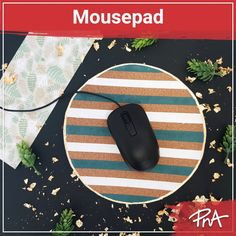 🖱️ An essential accessory for any computer user, this DIY mousepad could easily be a gift to someone, or yourself to boost productivity and creativity. 🥳 Do you like it? Follow the steps on Instagram. Do You Like It, Mousepad, Gold Leaf, Computer Mouse, Productivity, Cork, Creativity, Projects, Gifts