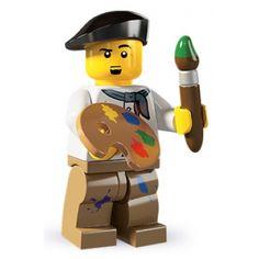 LEGO Minifigures - Artist (firestartoys, 2013)