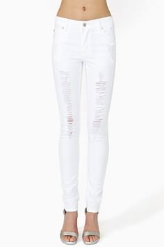 Cheap white skinny jeans for juniors