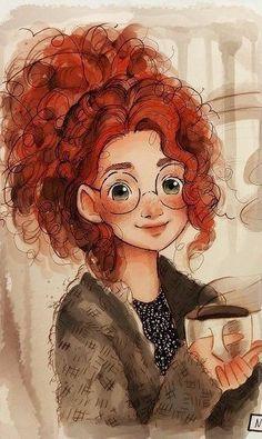 merida_study_by_nummyumy on deviantart - Cartoon art - Cartoon Girl Drawing, Cartoon Drawings, Cartoon Art, Cute Drawings, Disney Kunst, Arte Disney, Disney Art, Disney Drawings, Drawing Disney