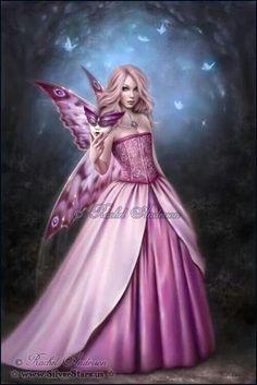 Fantasy Art in pink