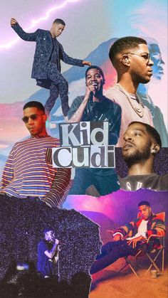 Tumblr Quotes Wallpaper, Wallpaper Backgrounds, Wallpapers, Kid Cudi Wallpaper, Kid Cudi Poster, Rapper Art, Man On The Moon, Story Highlights, Mood Pics