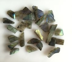 217CT NATURAL LABRADORITE ROUGH SLICE GEMS FLASHY LOOSE LOT RAW MINERAL SPECIMEN #ROUNDSNROSES