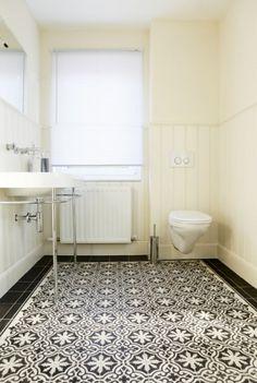 Portugese floor. Perfect for a bathroom