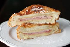 How to make delicious Copycat Disneyland Monte Cristo Sandwiches. This is a must have recipe for the Disney fan!
