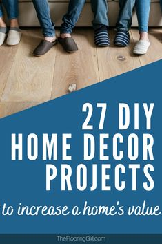 These home improvement projects will increase the value of your home and they are do-it-yourself Diy Projects To Improve Your Home, Diy Home Decor Projects, Do It Yourself Home, Home Improvement Projects, Home Values, House Design, Diy Crafts, Home Projects, Homemade