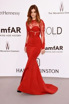 2015 Cannes Film Festival amFAR Gala - Barbara Palvin