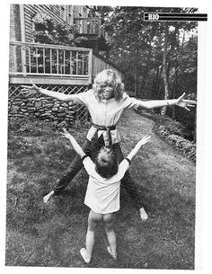 Carly Simon and Son
