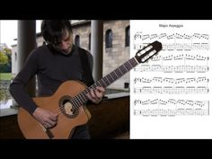 Guitar Exercise: Major 7th Arpeggio by Guitar Lovers - YouTube